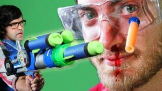 Repeat youtube video Epic Gun Battle - Rhett & Link