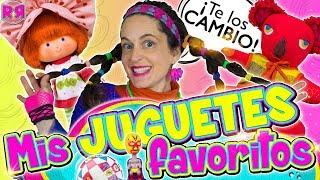 Mis JUGUETES favoritos 🦄 JUGANDO SLIME MUÑECAS Tarta Fresa Rosita Fresita Frutillita ⚽ regalos thumbnail