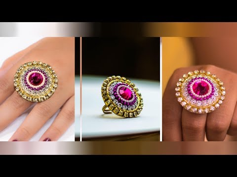 Make a ring for special occasion |  paper ring | Party wear | Art with Creativity