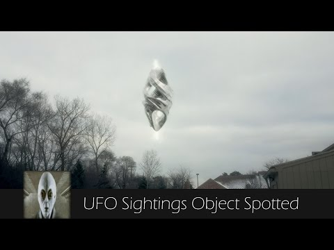 UFO Sightings Object Spotted Twice April 16th 2017