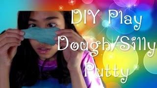 DIY Play Dough/Silly Putty! (no glue, borax, or liquid starch)