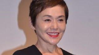 女優の大竹しのぶと俳優の豊川悦司が3度目のタッグを組んだ映画 「後妻...