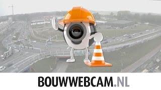 Time lapse werkzaamheden ring Noord: Bedumerweg 2013 - 2016