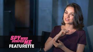 The Spy Who Dumped Me 2018 Movie Featurette Dynamic Duo  Mila Kunis Kate McKinnon Sam Heughan