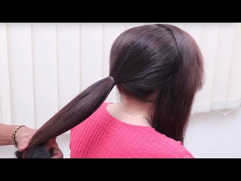 Beautiful Hairstyle for Medium Long Hair