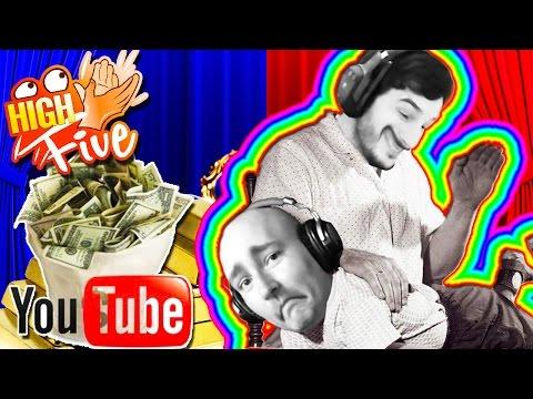 High Five ! Frapper Des Enfants Pour De l'Argent ! – Fanta et Bob Talk Show