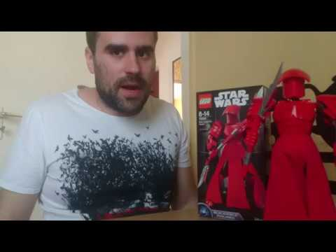 09# Lego Star Wars - Elite Praetorian Guard buildable figure bemutató, elemzés