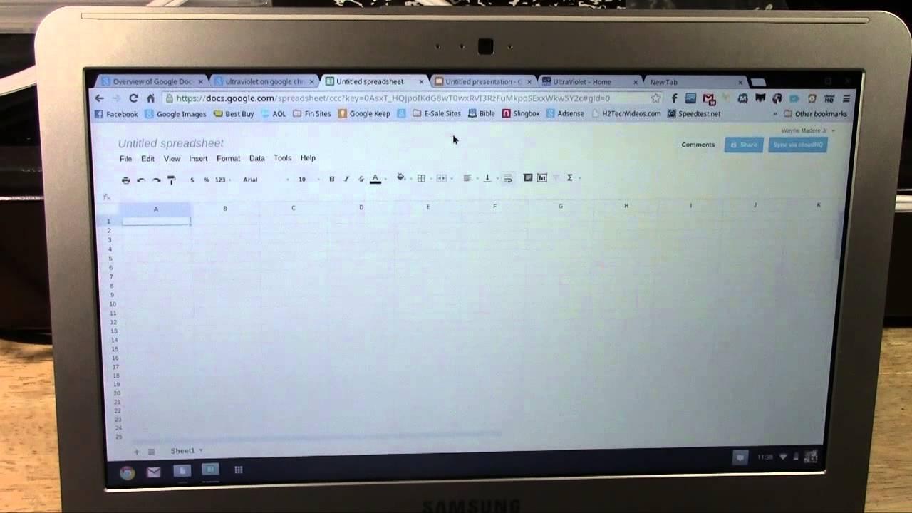 Chromebook: How to Print | H2TechVideos