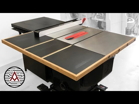 Out-feed Desk for a Sawstop Cupboard Noticed — Woodworking/ Store Challenge