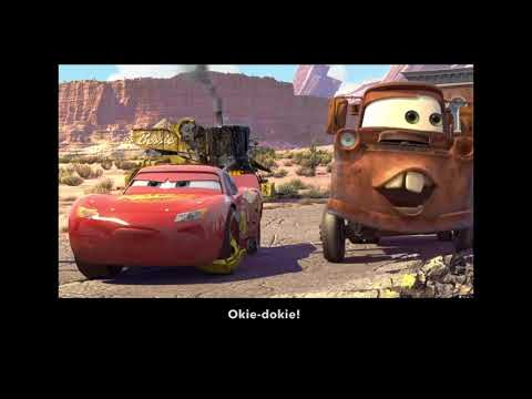Learn/Practice English with MOVIES (Lesson #19) Title: Cars