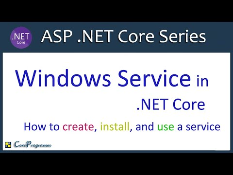 Windows Service In .NET Core | How To Create, Install, And Use A Service