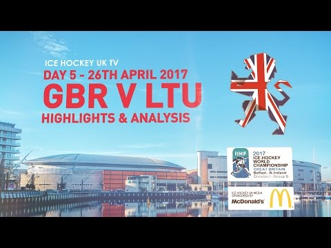Team GB in Belfast - Day 05 - Great Britain v Lithuania - Highlights