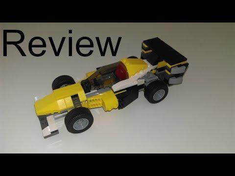 LEGO Creator | 31023 - Gelbe Flitzer (2014) | Review - B-Modell