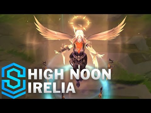 High Noon Irelia Skin Spotlight - League of Legends