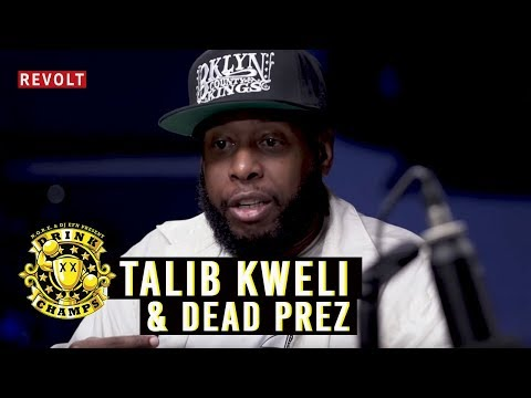 Talib Kweli & Dead Prez | Drink Champs (Full Episode)