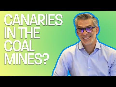 CANARIES IN THE COAL MINES?