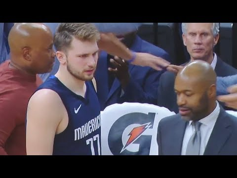 Luka Doncic slapped by assistant coach