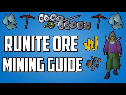 Old School RuneScape In-depth Runite Ore Mining Guide