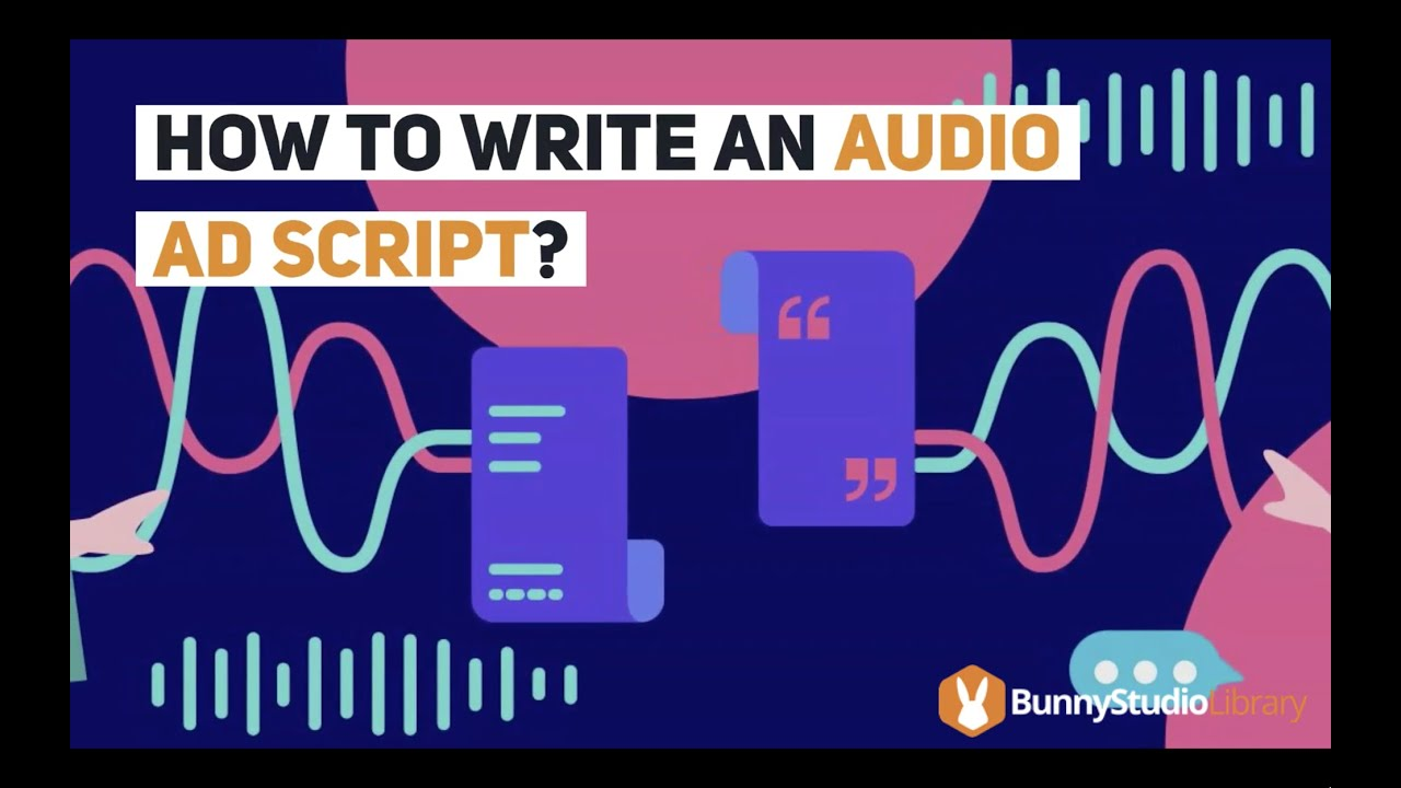 how to write an audio ad script  youtube