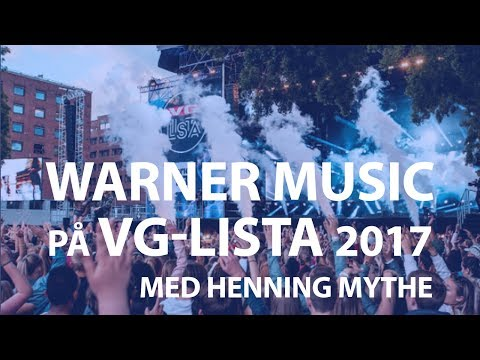 Henning Mythe med Warner på VG-lista 2017