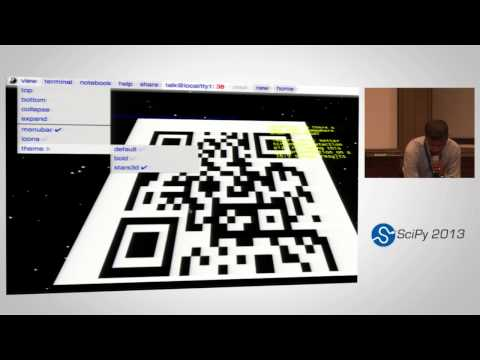 GraphTerm: A notebook-like graphical terminal interface; SciPy 2013 Presentation