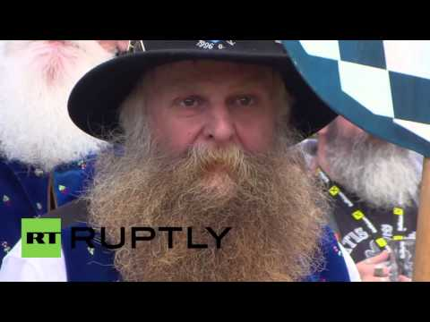 Austria: Fan-TASH-tic facial hair rolled out for World Beard Championships