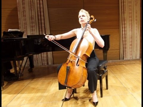 J.S. Bach Arioso from Cantata 156 played by Susanne Beer and Gareth Hancock