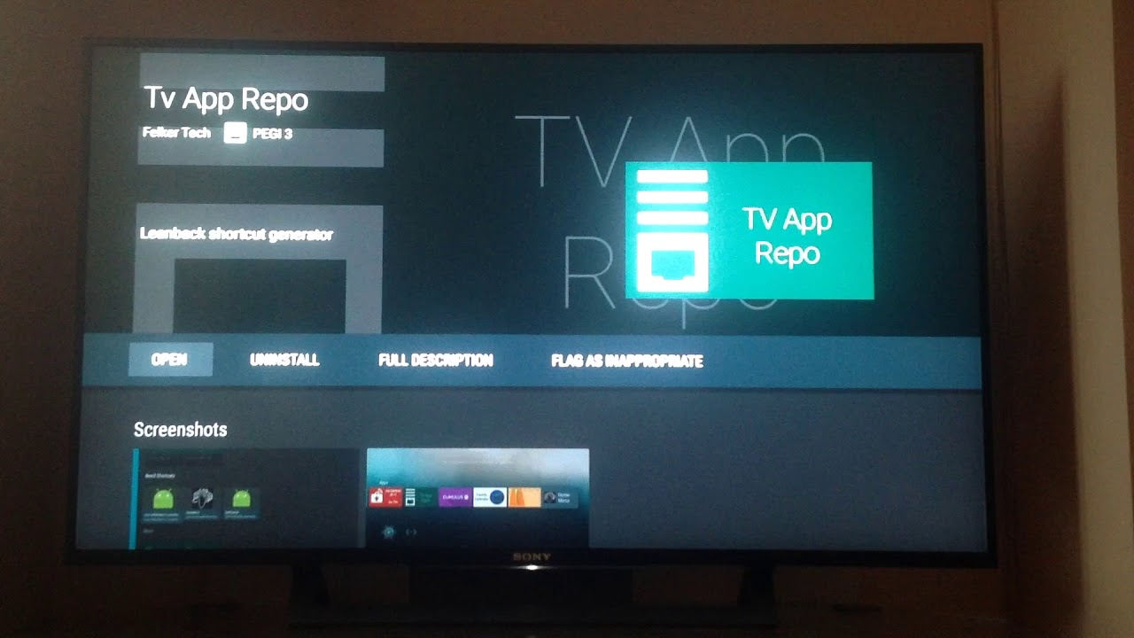 How to Create a Shortcut or Icon for a Sideloaded App on Android TV