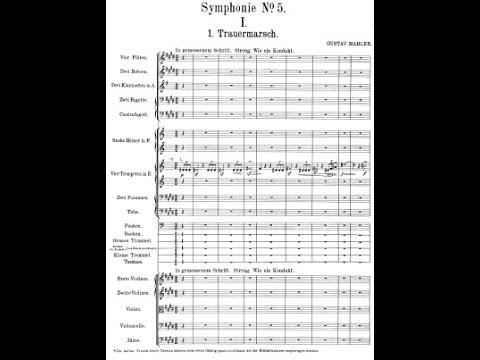 Mahlers 5th Symphony Audio + Score