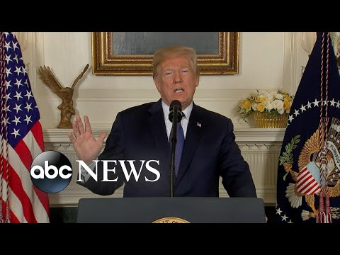 Strikes will establish a strong deterrent of chemical weapons: Trump