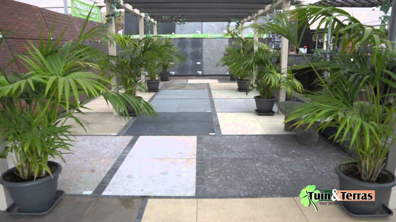 Tuin en terras keramische tegels youtube - Dek een terras met tegels ...