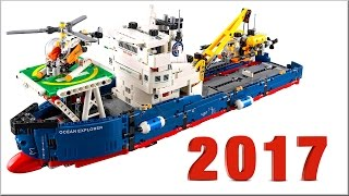 lEGO Technic 2017 наборы - Новинки