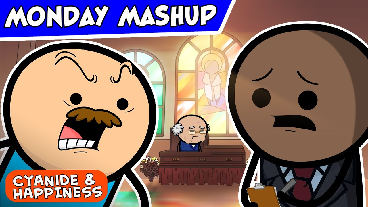 Grave Concerns | Cyanide & Happiness Monday Mashup