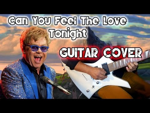 Can You Feel The Love Tonight   Electric Guitar Cover  E7