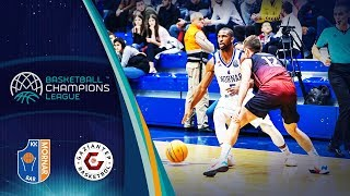 Mornar Bar v Gaziantep - Full Game - Basketball Champions League 2019-20