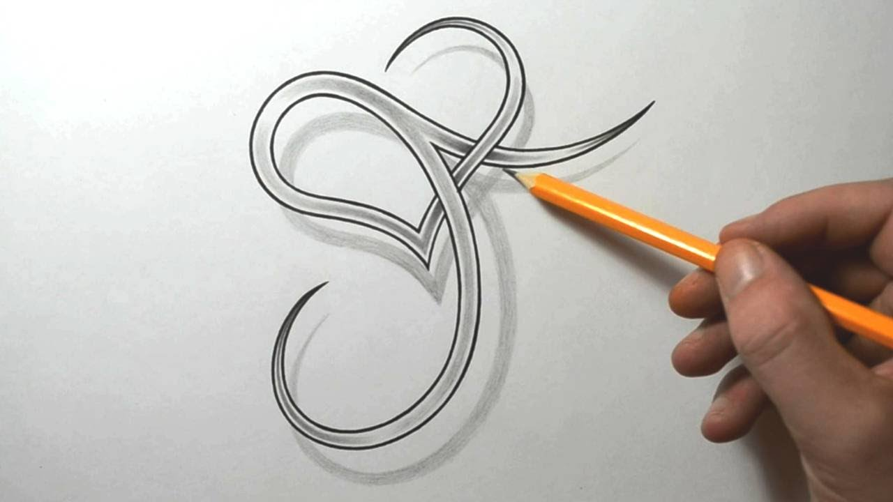 Designing A Stylized J With Heart