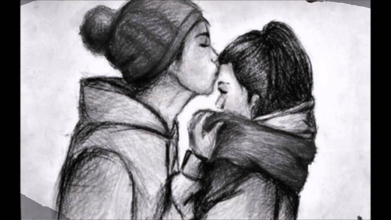 Parejas Enamoradas Lapiz Noche Dibujos Tumblr Www Miifotos Com