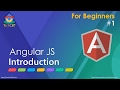 AngularJS: Basic Introduction (for very