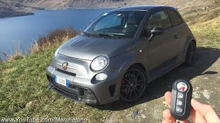 A Day with the Abarth 695 Biposto - Test Drive & Review