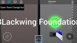 Roblox Blackwing-foundation thanks video