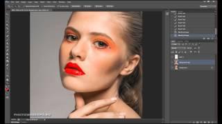 Портретная ретушь. Видео урок фотографии 24