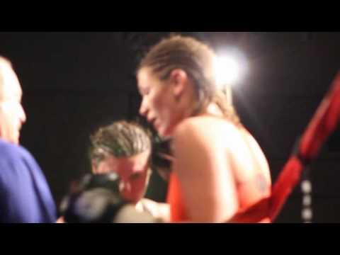 #4 Teresa Perozzi April Ward Fight Night XIV Bermuda March 10 2012