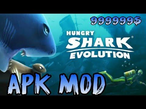Hungry Shark Evolution Apk Mod Dinheiro Infinito V 5 2 0