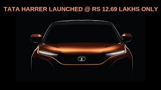 Tata Harrier Features Explained 2019 || Price || Specs