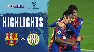 Barcelona 5-1 Ferencvaros | Champions League 20/21 Match Highlights