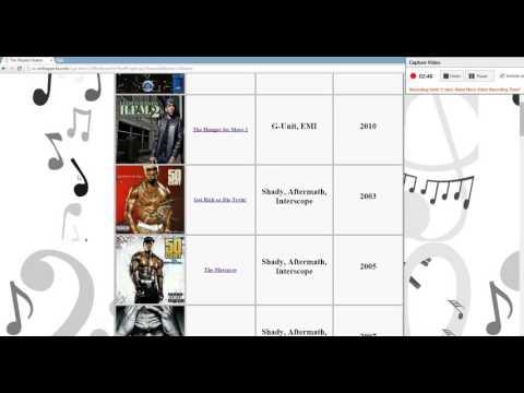 CS 108 -  Final Project Video - The Playlist Maker