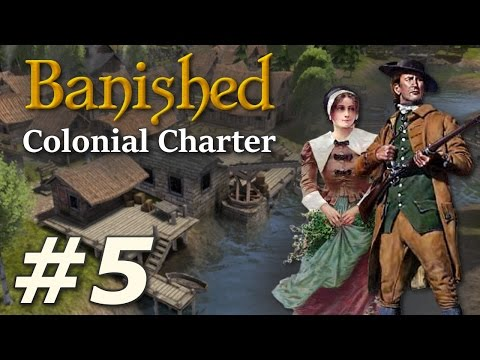 Banished: Colonial Charter (v1.71) - New Cardiff (Part 5)