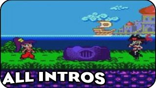 Evolution Of Introductions In Shantae Videogames