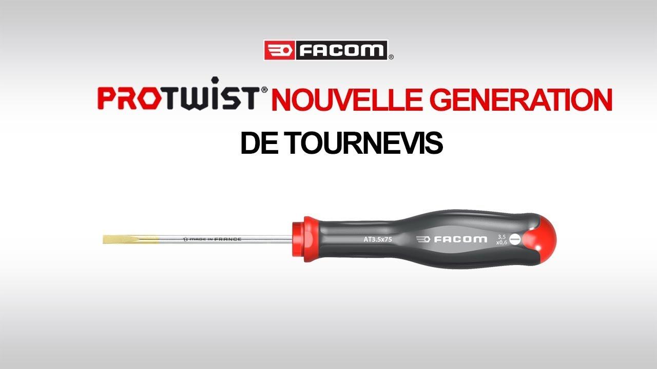 acheter ramassé aspect esthétique Protwist® Nouvelle Génération de Tournevis l FACOM by FACOM