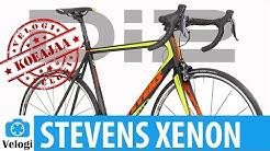 Koeajossa Stevens Xenon Di2 maantiepyörä